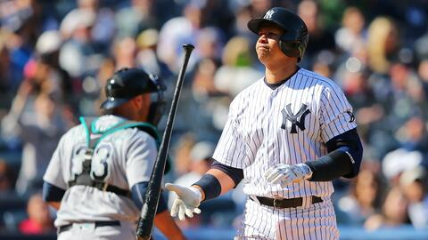Rodríguez y los Yankees vencen a Seattle