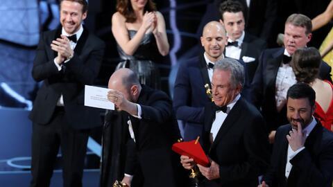 Un bochorno de película, así fue el error histórico de los Oscar