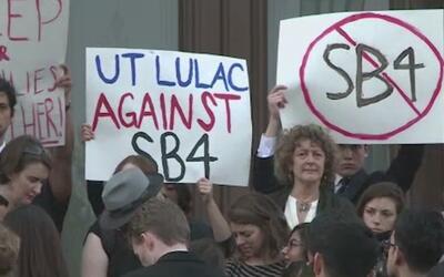 Termina la sesión legislativa en Texas con la aprobación de la ley SB 4