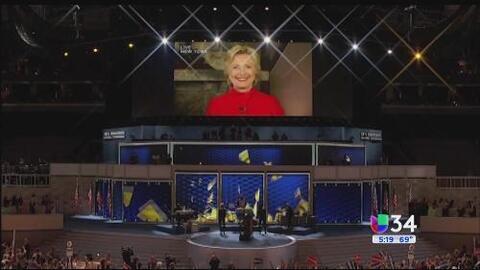Hillary Clinton logró nominación histórica en Estados Unidos