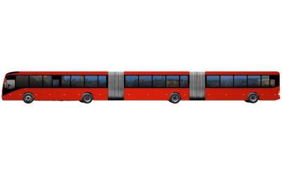 Volvo desarrolló en Brasil el Gran Artic 300, el autobús m...