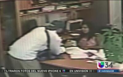 Ladrón sembró terror en negocio hispano