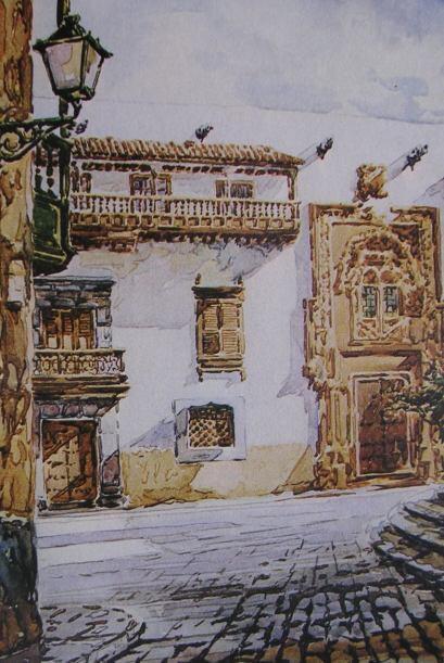 """""""Colón le escribe a Juana de la Torre"""", indica la escritora.  (Vista par..."""