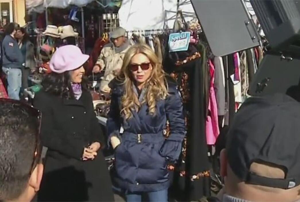 Thalía confesó que es fan de Despierta América y que se divierte viendo...