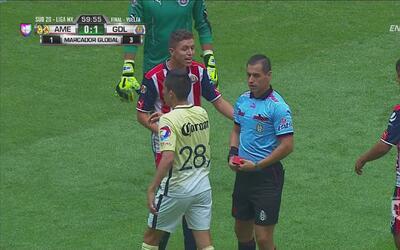 Andrés Ramírez salió expulsado por Chivas y se abre una ventana para Amé...