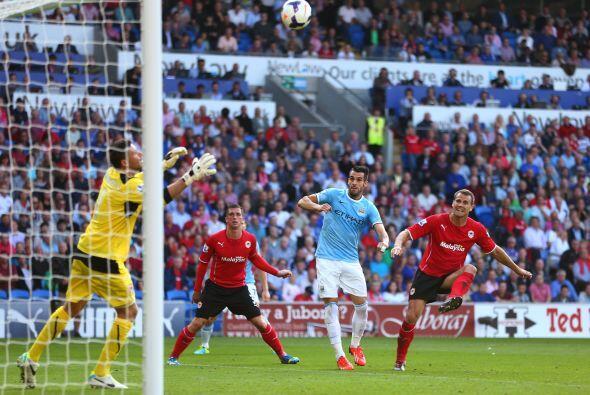 Álvaro Negredo aún pudo descontar, al poner el 3-2.