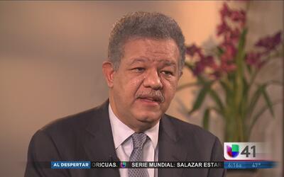 El expresidente dominicano Leonel Fernández habla en exclusiva de su fut...