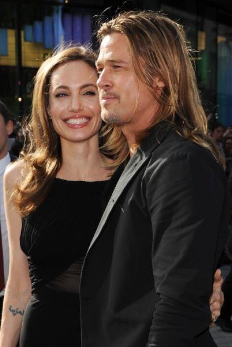 Brad Pitt y Angelina Jolie tienen una linda familia conformada por seis...