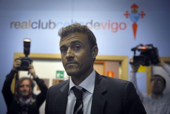 Luis Enrique Martínez: El ex jugador de los 'blaugranas' actualmente dir...