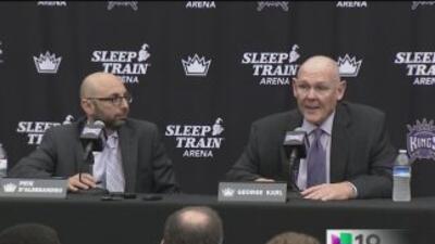 Presentan al nuevo entrenador de los Kings de Sacramento