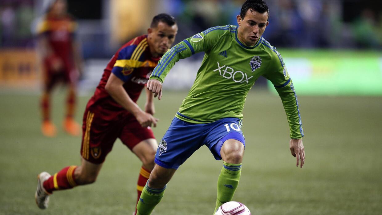 Marco Pappa recuperado en Seattle Sounders.