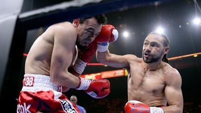 Keith Thurman dio otra gran exhibición de boxeo ante Robert Guerrero.