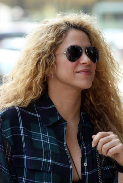 Shakira aprovechó unos días libres en Europa para visitar el famoso Muse...