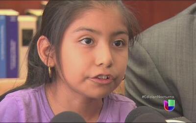 Una niña se vuelve activista a favor de los indocumentados