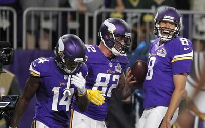 Minnesota Vikings derrotó 17-14 a Green Bay Packers