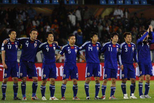 Por una de esas cosas que tiene la Conmebol, la selección japones...