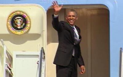 Barack Obama llega a Texas a discutir la crisis humanitaria