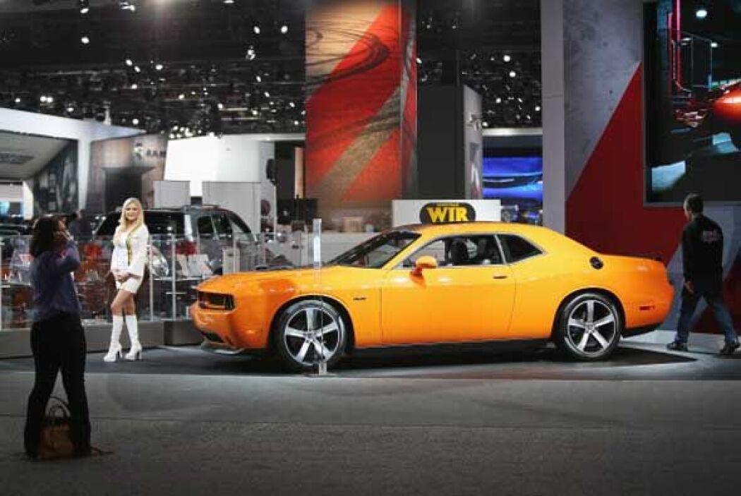 Las opciones para personalizar el Challenger lo mantienen al día.