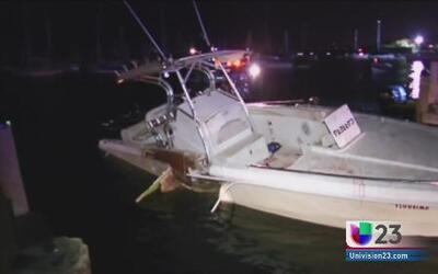 Investigan violento accidente de bote