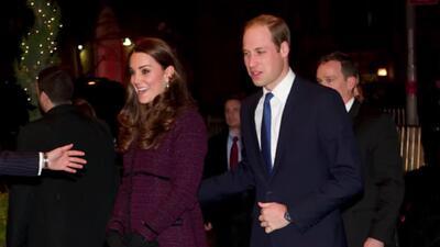 Kate Middleton y el príncipe William dejan huella en Nueva York