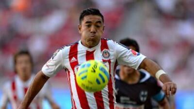 MArco Fabián asume que Chivas es favorito contra Atlas.