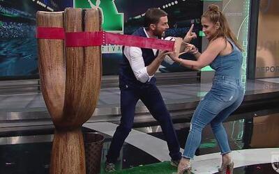Jaquie Guerrido jugó con la resortera