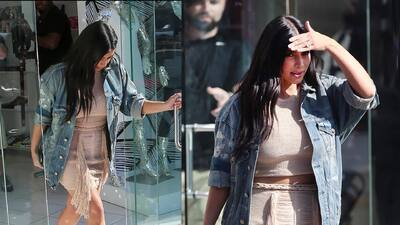 Kim Kardashian es una 'fashionista' anti-maternidad