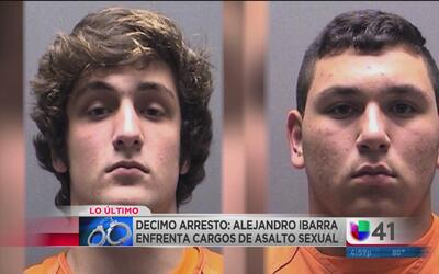 Arrestan al décimo alumno acusado de abuso sexual