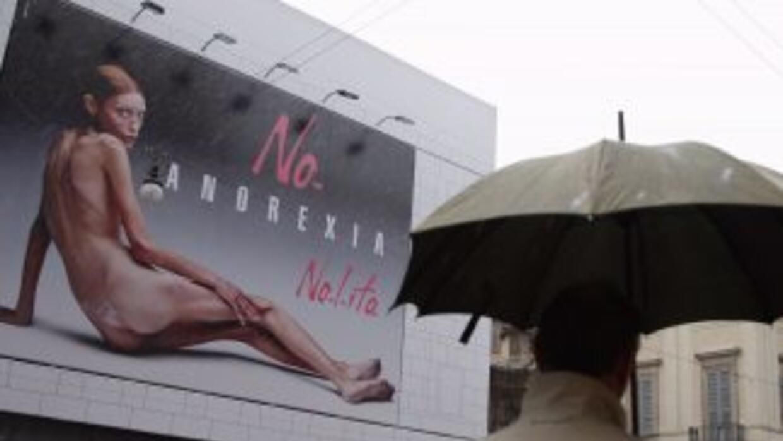 La modelo y actriz francesa posó desnuda en 2007 para una campaña public...