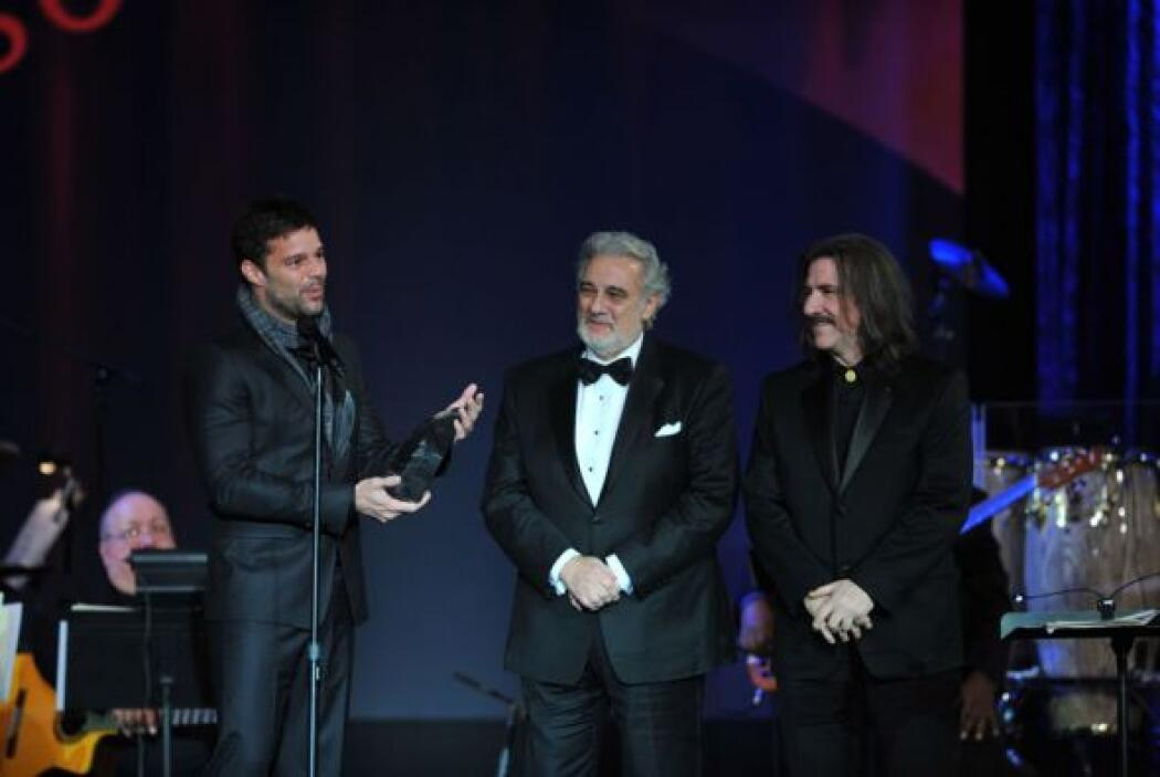 Ricky Martin, por su parte, le dio una mención especial, como lo había a...