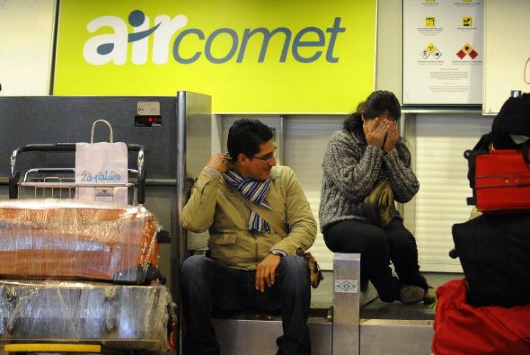 23 de marzo de 2010- Air Comet, compañía propiedad del entonces presiden...