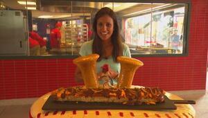 'Hot dogs' gigantescos en Arlington