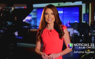 Johana Suarez, nueva conductora de Noticias 23