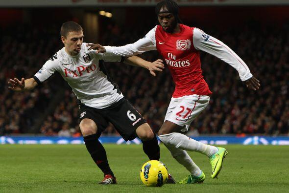 Arsenal empató con el Fulham 1 a 1.