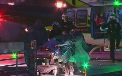 Un hombre herido y otro bajo custodia de la policía deja un enfrentamien...