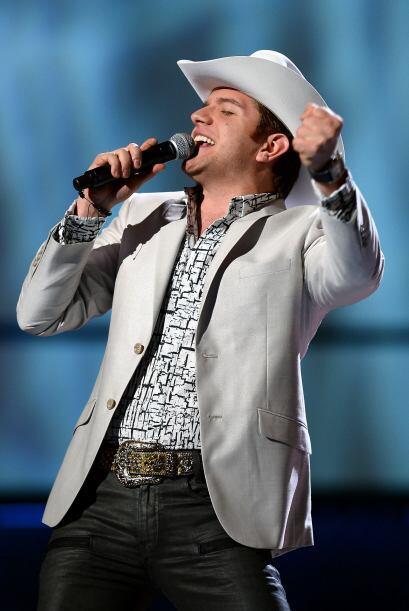 El Dasa cantando en los Grammy, noviembre 2013.