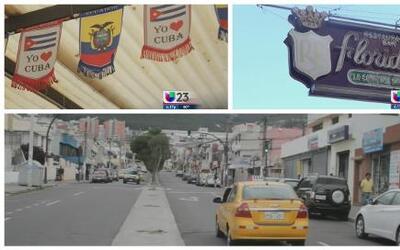 En Ecuador los cubanos también tienen una calle 8