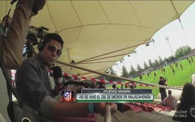 Así se vivió el día de medios del Atlético de Madrid  en Majadahonda