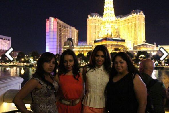 La joven salvadoreña regresó a su casa en Las Vegas antes...