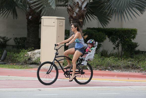 Es más placentero sacar la bici y pasear por las calles cercanas a la pl...
