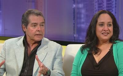 Luis Uribe y Gloria Izaguirre presenta su obra 'La doble moral', que est...