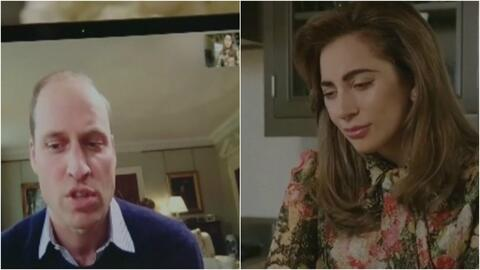 ¿De qué hablan Lady Gaga y el príncipe William en FaceTime? La conversac...