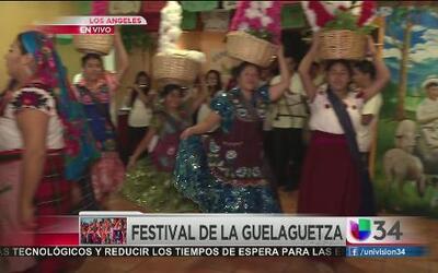 Festividades  de la Guelaguetza este fin