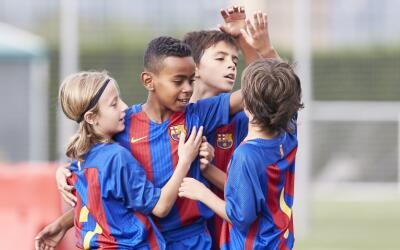 ninos barcelona FC