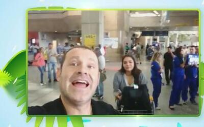 Ya Alan Tacher llegó a Brasil