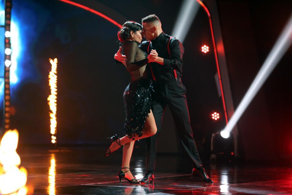 Giselle Blondet sorprendió con tremedo tango.