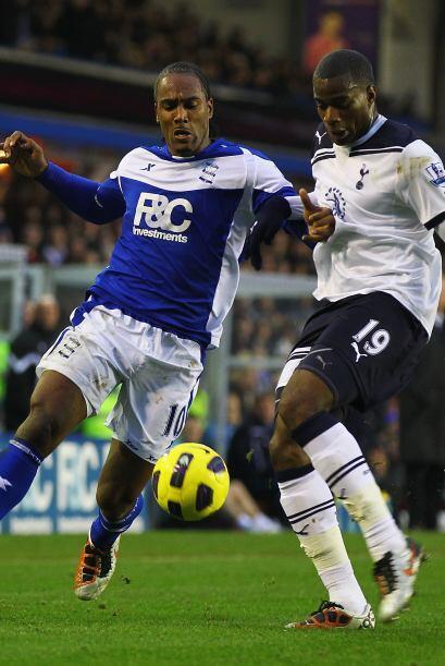 Sebastien Bassong marcó para el Tottenham, Wilson Palacios recibió la ta...