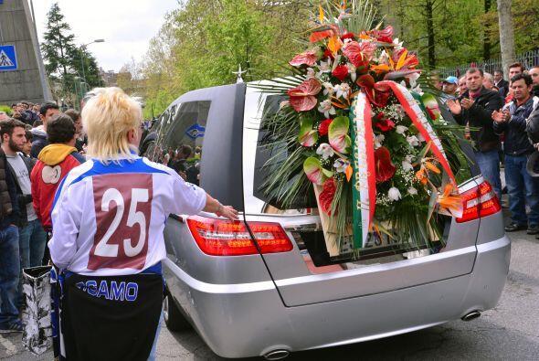 Durante el entierro el párroco de la iglesia, Luciano Manenti, destacó l...