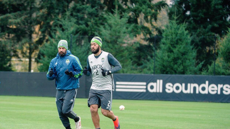 Clint Dempsey fue visto el miércoles en el entrenamiento de Seatt...