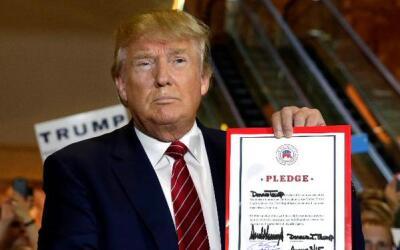 Trump: Inmigrantes deben hablar inglés